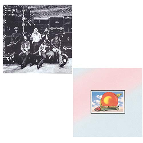 At Fillmore East - Eat A Peach - The Allman Brothers Band 2 CD Album Bundling