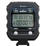 Schütt Stoppuhr PC-71 (8 Memory Speicher | Timer/Pacer | - Digital Profi Stoppuhr mit...
