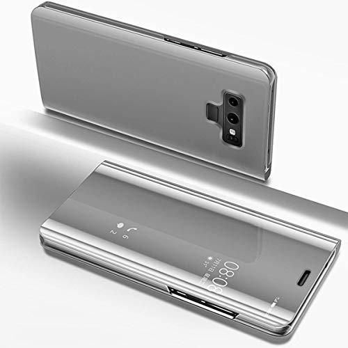 Herbests Coque Galaxy Note 9 Housse en Cuir Etui avec Motif Coque à Rabat Magnétique Ultra Mince Anti Choc Porte-cartes,#1202