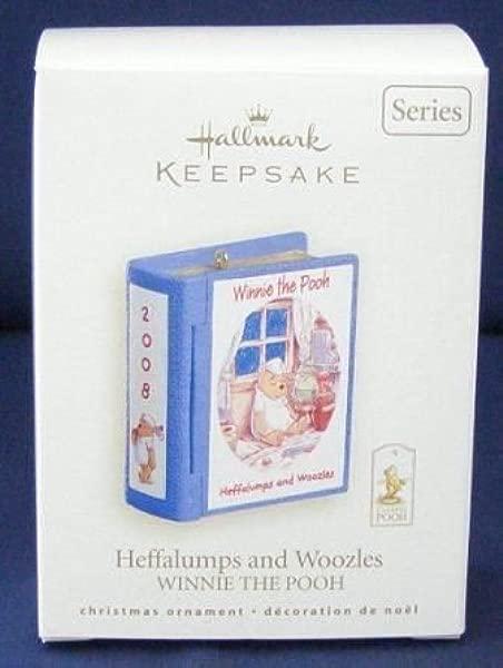 Winnie The Pooh Keepsake Ornament Heffalumps And Woozles 11 In Series