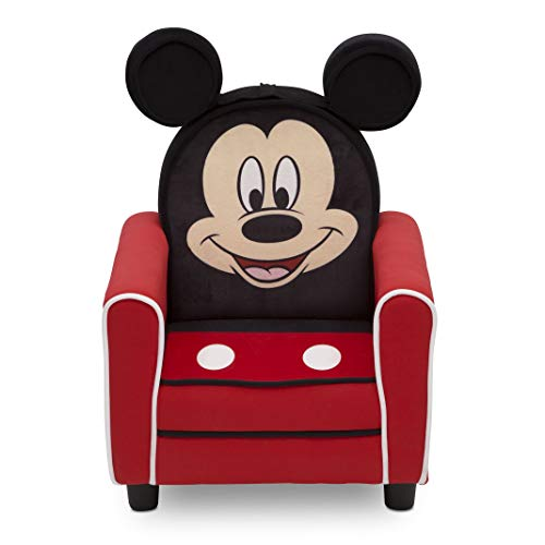 Disney Mickey Mouse Figural Upholstered Kids' Chair - Delta Children
