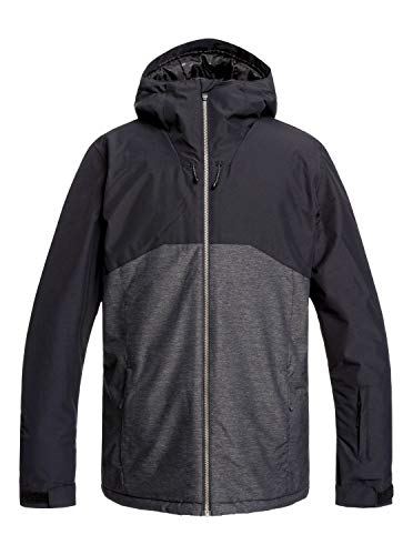 Quiksilver Mens Sierra - Snow Jacket for Men Snow Jacket Black XL