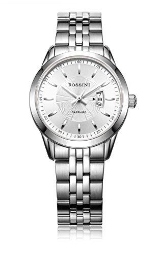 Rossini Klassische Damen-Edelstahl-Armbanduhr–ROSLB023