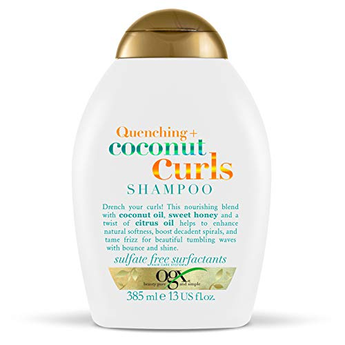 OGX Coconut Shampoo for Curly Hair 385 ml Sulfate Free Surfactants