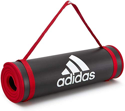 adidas Tappetino Fitness - Nero, 10 mm