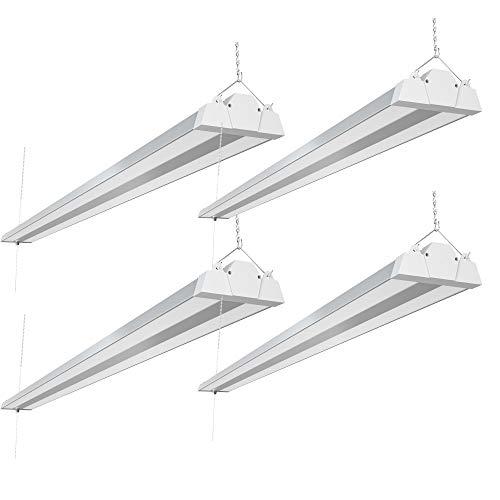 Freelicht 8FT LED Shop Light (4 Pack), 100W 11000Lumen 5000K Daylight, Plug...
