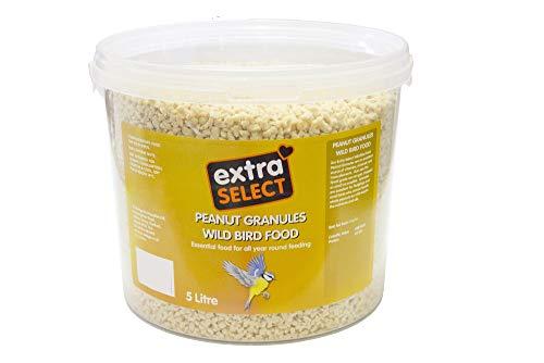 Extra Select - Granulado de Cacahuete para Aves Silvestres, 5 litros