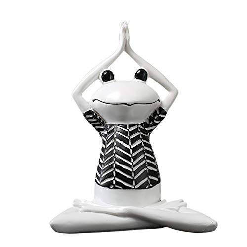 Lioobo - Figura decorativa para jardín, diseño de rana