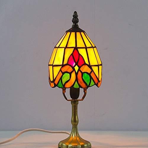 Lampada Da Comodino Da Studio Im Stile Land pro Hotel Lampada Da Tavolo Tiffany Per Studenti Con lampada Da Tavolo A Forma Di Occhio Pro Scrittura (Color : A)