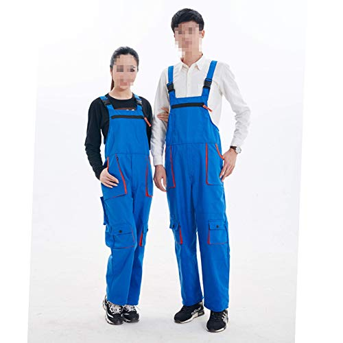Cestbon Latzhose Arbeitshose Herren Classic Arbeitslatzhose Für Handwerker KFZ Gärtner Mechaniker,Blau,190