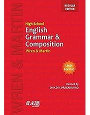 Wren & Martin High School English Grammar and Composition Book (Regular Edition)