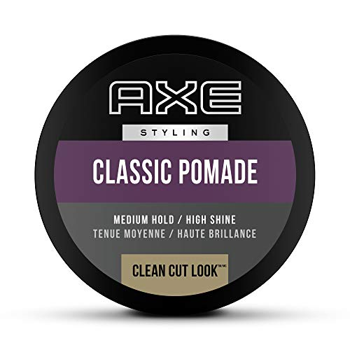 AXE Hair Pomade for Men For a Clean Cut Look Classic Easy to Use Styling Hair Product 2.64 oz