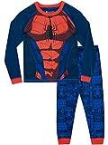 Spiderman Jungen Spider-Man Schlafanzug Blau 140