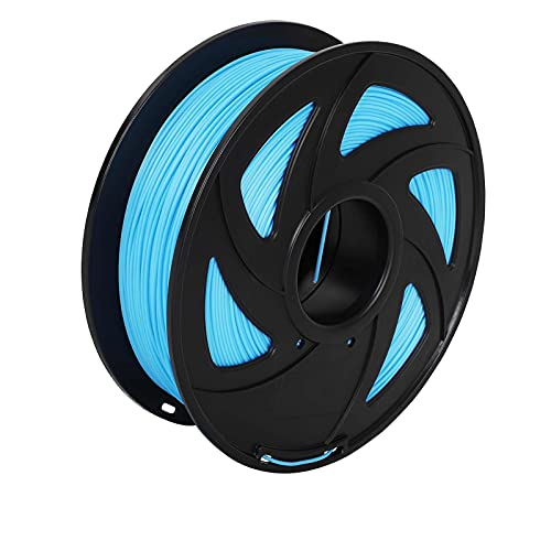 360Yard PLA 3D Printer Filament 1.75mm Good Toughness 3D Printing Pen Consumables with Spool High Purity(Sky Blue)