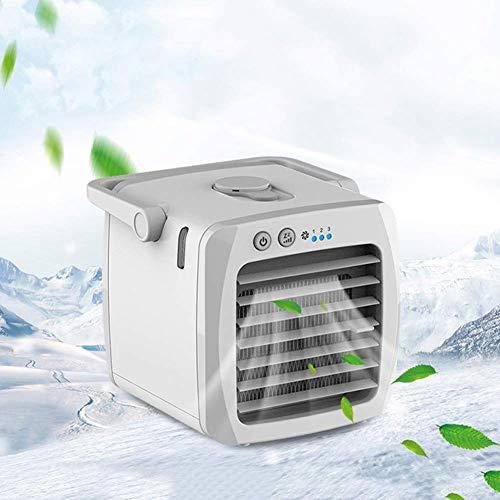 Zambista Mini enfriador de aire, purificación de aire acondicionado y humidificación portátil personal en 1, enfriador evaporativo de automóvil, ventilador de enfriamiento de aire móvil para dormitori