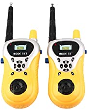 Webby Walkie Talkie Toy with Range Upto 100 Feet (Multi-Color)