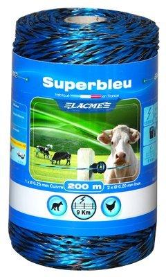 Lacme Superblue Elektrozaun Supeblue 200mt, Blau