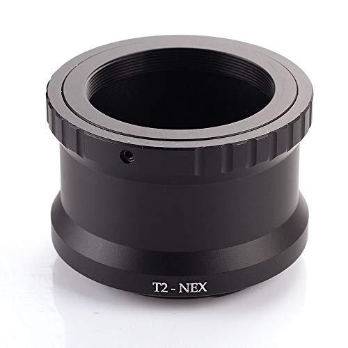 T2 T - Anillo Adaptador de Objetivo a Montura E para Sony NEX-7 6 5 A7 A7S A7R II A6300 A6000 A650