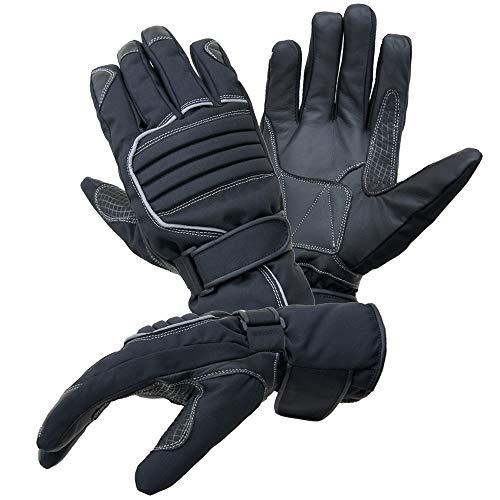 Motorradhandschuhe PROANTI® Regen Winter Motorrad Handschuhe (Gr. XL, schwarz)