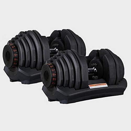 Dumbbell Set Weight Adjustable Dumbbell, 40kg Dumbbells*2pcs, Body Building Dumbbell(Pair)