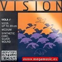 CUERDA VIOLA - Thomastik (Vision/VI22A) (Sintetica/Entorchado Plata) 2ェ Medium Viola 4/4