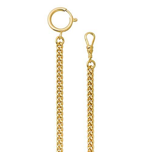orologio da taschino oro Catena per orologio da taschino a maglia groumette