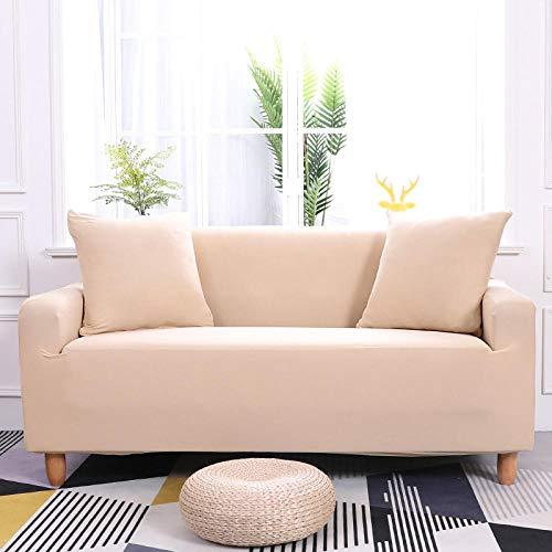 HXTSWGS elastische Sofahusse Sofa Abdeckung,Elastic Sofa Cover, Furniture Protector, Non-Slip Sofa Cover-Color 22_185-230cm