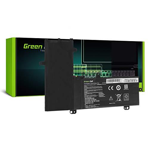 Green Cell Batería para ASUS EeeBook Flip E205SA-FV0245T Transformer Book TP200 TP200S Portátil (5000mAh 7.6V Negro)