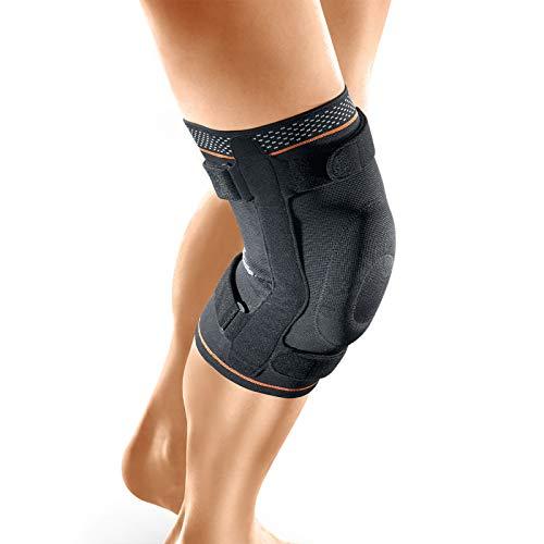 Kniebandage, klappbar, strapazierfähig, für Sport, Reha, Verletzungen, Sporlastic Genu Hit GS – Größe 6
