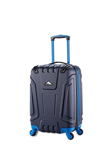 High Sierra Tephralite Hardside Spinner Luggage, Maritime/Vivid Blue, 20-Inch
