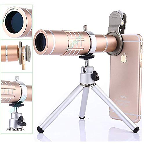 YZY Nieuwe Camera Lens Kit,3 in 1 HD Universele Clip op Mobiele Telefoon Lens Kits Compatibel voor iPhone,Samsung, Android en andere telefoons