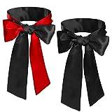 AirSMall Satin Yeux Masques,bandeau yeux,Bandeaux Noir,bandeau sexy en Soie Satin Confortable Masques de Sommeil Costume Party pour Adultes Couples Amoureux