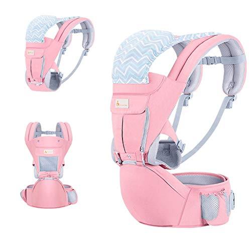 Sangle de Taille pour bébé, Banc d'absorption de Choc Amovible en Coton Multifonction Confortable et Respirant ( Color : B )