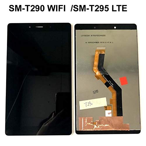 Logo Screen Fit For Samsung Galaxy Tab A 8.0 2019 LTE SM-T295 T295 T290 LCD Display Touch Sensor Glass Screen Digitizer+tool (Color : White For T290 WIFI)