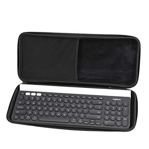 Aproca Hart Schutz Hülle Reise Tragen Etui Tasche für Logitech K780 Multi-Device Wireless Keyboard