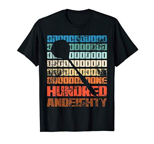 Dart Onehundredandeighty Dartspieler 180 Geschenk T-Shirt