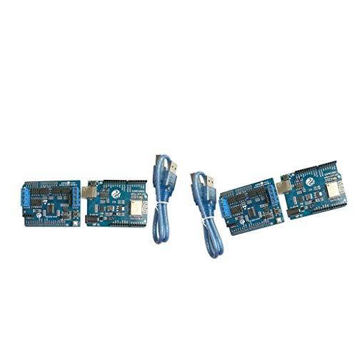 Backbayia ESPduino Develop Board Controller für Robotermotor, Schrittmotor, Armplatte (#1)