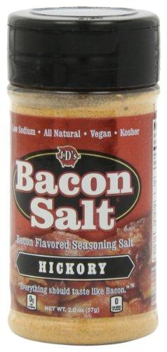 J&D's Bacon Salt, Hickory, 2 Ounce (Pack of 3)