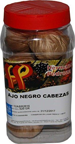 Especias Pedroza Ajo Negro - 520 g, 10 cabezas aproximadamente