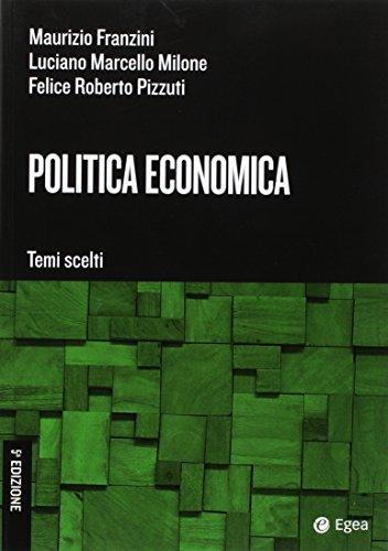Politica economica. Temi scelti