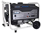 Pulsar 3,500W Portable Gas-Powered Generator with...