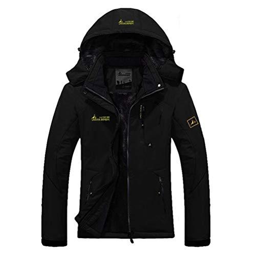 SODSIM Funktionsjacke Damen Wasserdicht Atmungsaktiv Winter Outdoorjacke Softshelljacke Trekking Jacke Skijacke