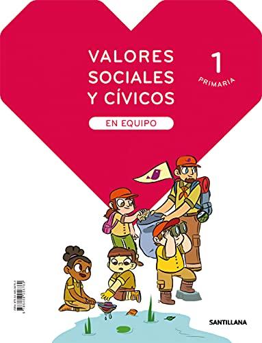 VALORES SOCIALES Y CIVICOS EN EQUIPO 1 PRIMARIA