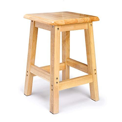 Massief hout huis kleine vierkante salontafel houten barkruk houten kruk lage kruk geschikt voor dagelijks gebruik thuis