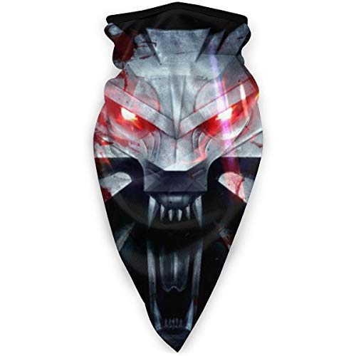 The Wit-Cher 3 W-ild Hu-nt Logo Wind-Resistant Face Mask Neck Gaiter Balaclava Ski Masks Face Warmer for Running Motorcycling Hiking Black