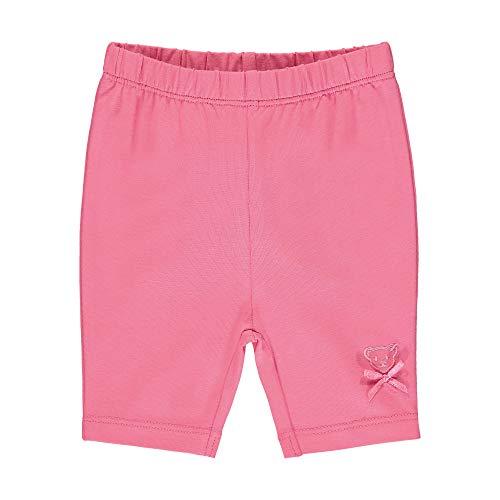 Steiff Baby-Mädchen Leggings, Rosa (Pink Carnation 3019), 62 (Herstellergröße: 062)