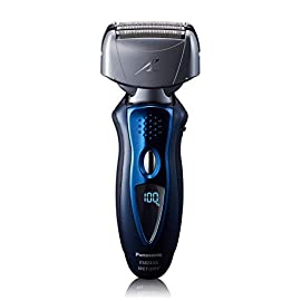 - 41ySwCNIekL - Panasonic Arc4 ES8243AA Electric Razor for Men with Pop-Up Beard Trimmer