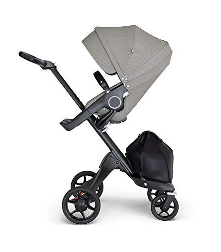 STOKKE® Xplory® 6 Stroller - Multifunktions-Kinderwagen mit schützenden, ergonomischen Sitz - Farbe: Brshed Grey
