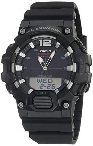Casio HDC700-1AV Black Resin Japanese Quartz Sport Watch