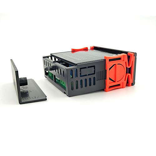 YEZIB Accesorios electrónicos de Bricolaje, Controlador de Humedad de Temperatura Digital Inicio Frigorífico Termostato Humidistat Termómetro Higrómetro AC 110V 220V SHT2000